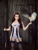 Пояс для чулок Jacquotte Longline Girdle, Kiss me Deadly