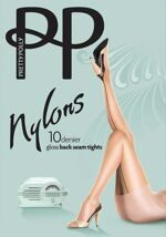 Колготки Pretty Polly AKQ4 со швом, плотность 10DEN, Pretty Polly